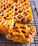 Apple και πίτα κανέλας Στοκ Εικόνες