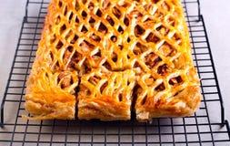 Apple και πίτα κανέλας Στοκ Εικόνα
