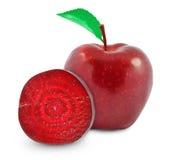 Apple και παντζάρια Στοκ Εικόνα