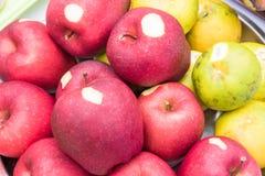 Apple και πορτοκάλι Στοκ φωτογραφία με δικαίωμα ελεύθερης χρήσης