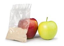 Apple και σκόνη πηκτίνης Στοκ Φωτογραφία