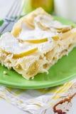 Apple και τυρί εξοχικών σπιτιών lasagne Στοκ Φωτογραφίες