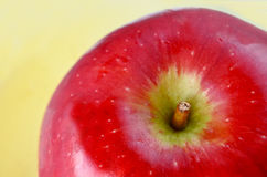 Apple και υπόβαθρο μελιού για Rosh HaShanah το εβραϊκό νέο Yea Στοκ Φωτογραφίες