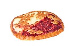 Apple και cheesecake μούρων Στοκ φωτογραφία με δικαίωμα ελεύθερης χρήσης