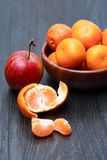 Apple και Tangerines Στοκ φωτογραφίες με δικαίωμα ελεύθερης χρήσης