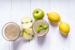 Apple, καταφερτζής μπανανών Στοκ Εικόνες