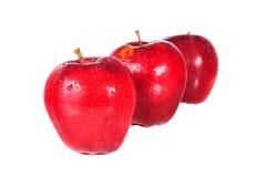 Apple, κόκκινο μήλο Στοκ εικόνες με δικαίωμα ελεύθερης χρήσης