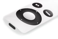 Apple μακρινή στο άσπρο υπόβαθρο Στοκ φωτογραφία με δικαίωμα ελεύθερης χρήσης