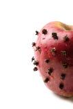 Apple με τα γαρίφαλα Στοκ Φωτογραφία
