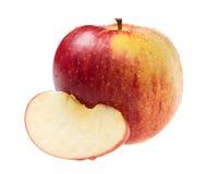 Apple με τη φέτα Στοκ Εικόνες