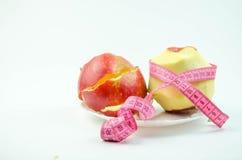 Apple με το αντιμετωπισμένο δέρμα Στοκ Εικόνες