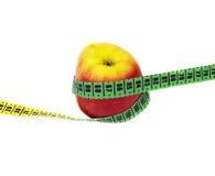 Apple και μετρητής Στοκ Εικόνες