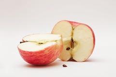 Apple μισό β Στοκ Φωτογραφία