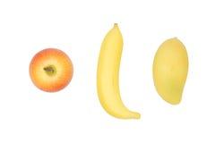 Apple, μπανάνα και μάγκο Στοκ φωτογραφίες με δικαίωμα ελεύθερης χρήσης