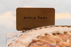 Apple ξινή με τη τιμή Στοκ φωτογραφία με δικαίωμα ελεύθερης χρήσης