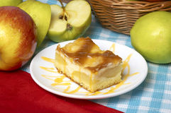 Apple ξινή με το μήλο Στοκ φωτογραφίες με δικαίωμα ελεύθερης χρήσης