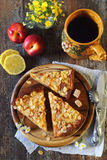 Apple ξινή, φρούτα και τσάι Στοκ Εικόνες