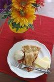 Apple/πίτα κερασιών ένας τρόπος Λα Στοκ Φωτογραφία