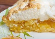 Apple-πίτα Στοκ Εικόνα