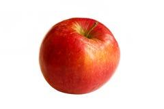 Apple που απομονώνεται η κόκκινη Στοκ Φωτογραφία