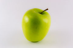 Apple που απομονώνεται η χρυσή Στοκ φωτογραφίες με δικαίωμα ελεύθερης χρήσης