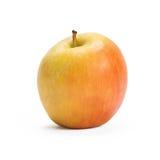 Apple που απομονώνεται σε ένα λευκό Στοκ Φωτογραφίες