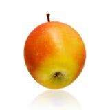 Apple που απομονώνεται στην άσπρη ανασκόπηση Στοκ εικόνα με δικαίωμα ελεύθερης χρήσης