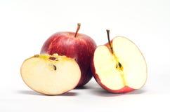 Apple που απομονώνεται στη Λευκή Βίβλο Στοκ Φωτογραφία