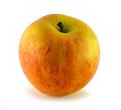 Apple, που απομονώνεται στο άσπρο υπόβαθρο Στοκ Εικόνες