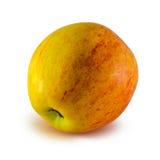 Apple, που απομονώνεται στο άσπρο υπόβαθρο Στοκ Φωτογραφία