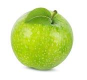 Apple που απομονώνεται στο λευκό Στοκ Φωτογραφίες