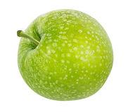 Apple που απομονώνεται στο λευκό Στοκ Εικόνα