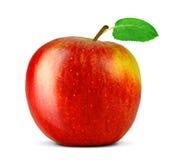 Apple που απομονώνεται στο λευκό Στοκ Φωτογραφία