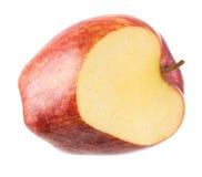 Apple που απομονώνεται Στοκ εικόνα με δικαίωμα ελεύθερης χρήσης