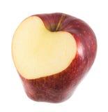 Apple που απομονώνεται Στοκ Φωτογραφίες