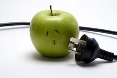 Apple που αποσυνδέεται Στοκ Εικόνες