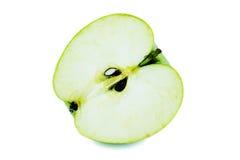 Apple που κόβεται κατευθείαν Στοκ Φωτογραφία