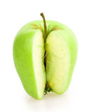 Apple που τεμαχίζεται Στοκ φωτογραφία με δικαίωμα ελεύθερης χρήσης