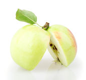 Apple που τεμαχίζεται Στοκ Εικόνα