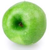 Apple, πράσινος, νερό πτώσης Στοκ Εικόνες