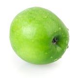 Apple, πράσινος, νερό πτώσης Στοκ Εικόνα