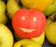 Apple-πρόσωπο Στοκ Φωτογραφίες