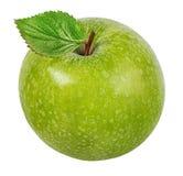 Apple σε ένα λευκό Στοκ εικόνα με δικαίωμα ελεύθερης χρήσης
