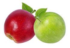 Apple σε ένα λευκό Στοκ Εικόνες