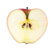 Apple σε μια περικοπή Στοκ Φωτογραφίες