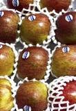 Apple στην αγορά Στοκ Εικόνες