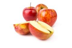 Apple στο άσπρο υπόβαθρο Στοκ Εικόνες