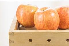 Apple στο κιβώτιο Στοκ Εικόνα