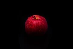 Apple στο σκοτάδι Στοκ Εικόνα