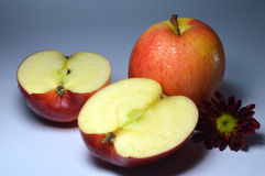 Apple τα φρούτα, τραγανός, εύγευστα, φρούτα. Φύση. Στοκ φωτογραφία με δικαίωμα ελεύθερης χρήσης